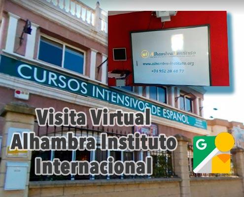 visita virtual escuela espanish 360 vr