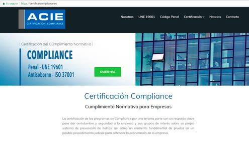 web compliance acie
